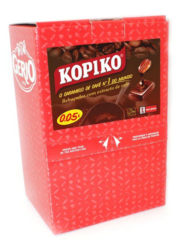 Nuevos expositores con caramelos de café Kopiko