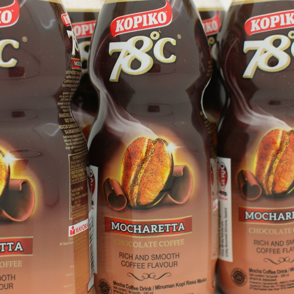 Coffee drink with chocolate