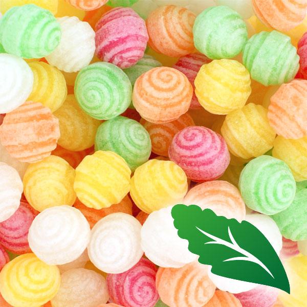 Bolas espirales sin azúcar y con stevia