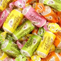 Soft chew fruity candy