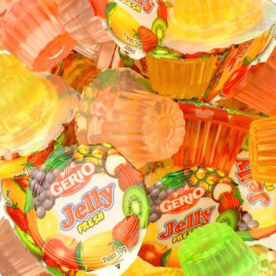 Jelly de frutas surtidas