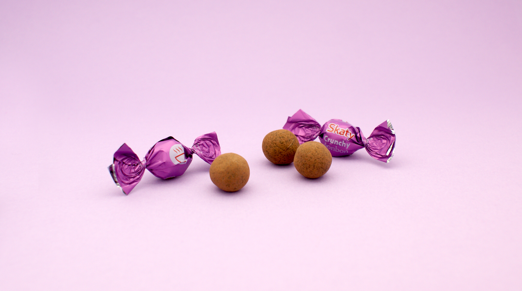 milk chocolate balls