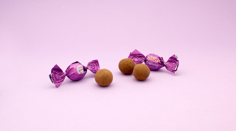 milk chocolate balls
