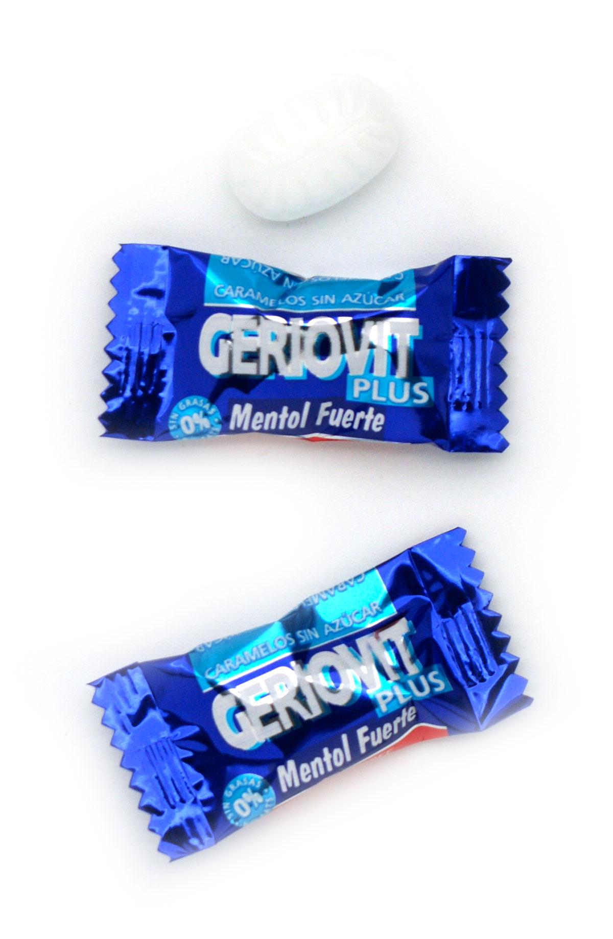 Caramelos sin azúcar y sin gluten de mentol