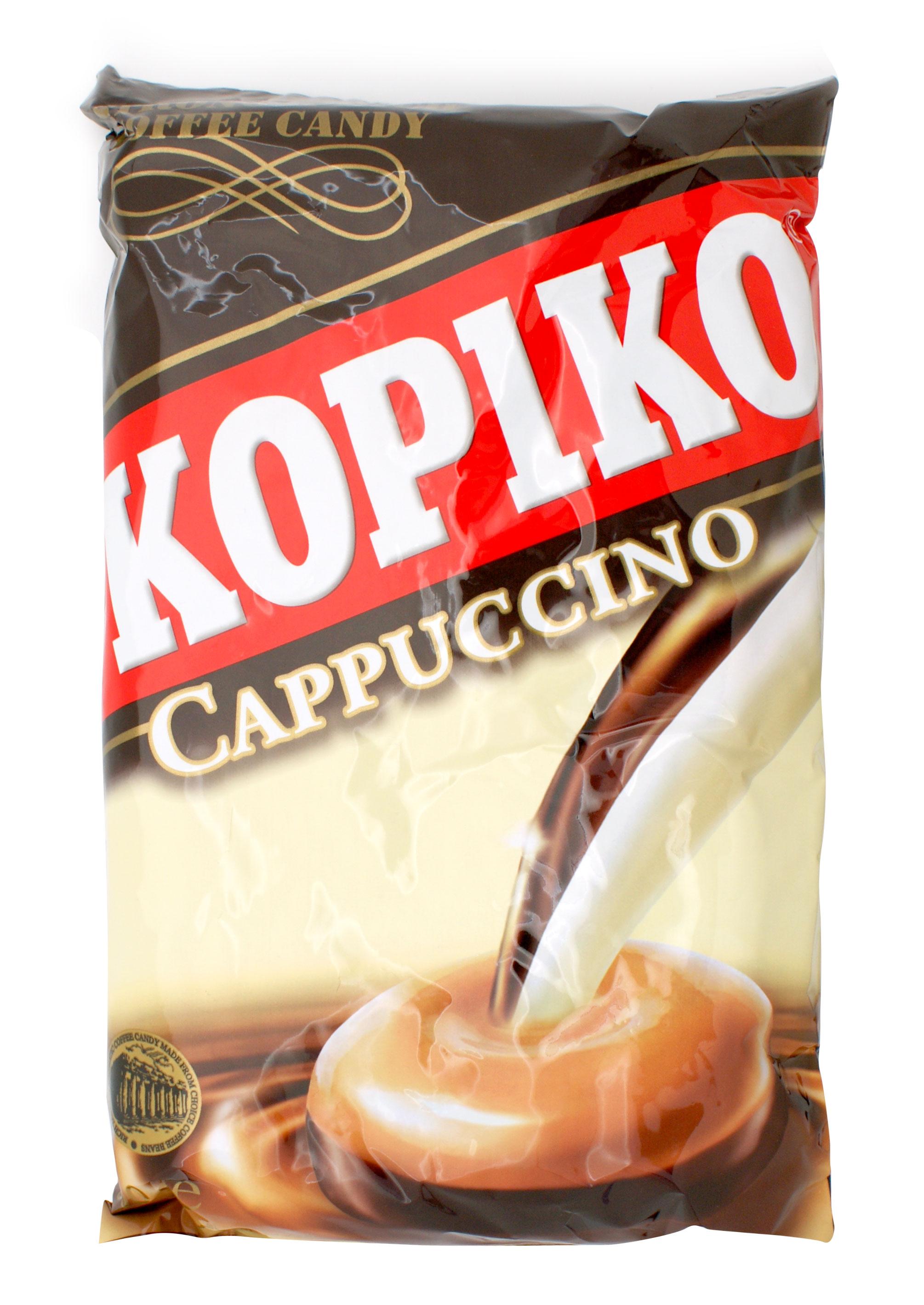 Caramelos cappuccino kopiko