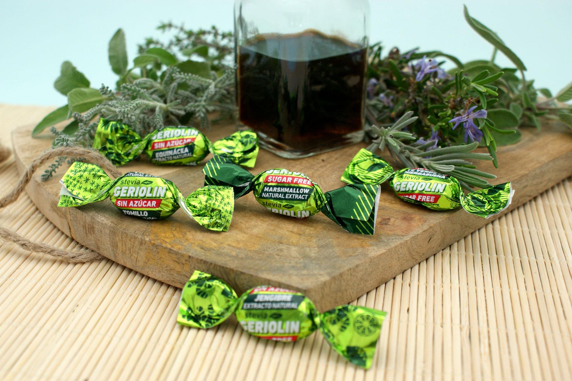 Geriolín hierbas sin azúcar