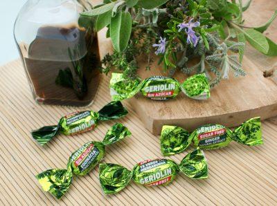 caramelos hierbas extractos naturales