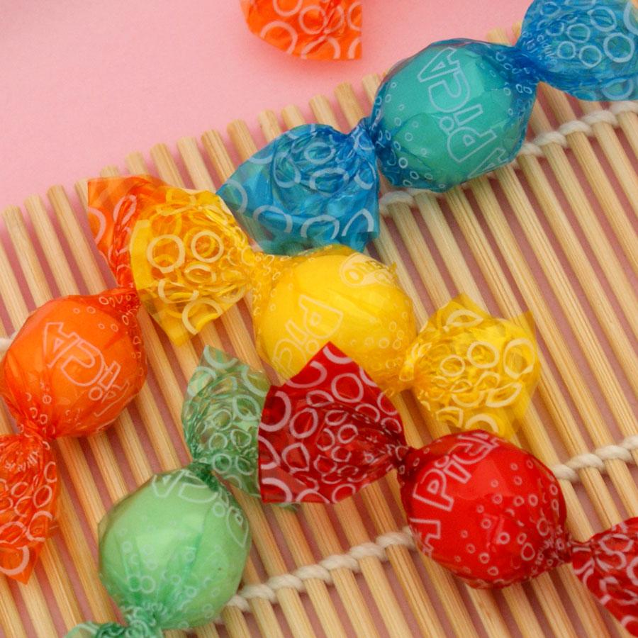Bolas pica pica ácidas de dextrosa y sin gluten
