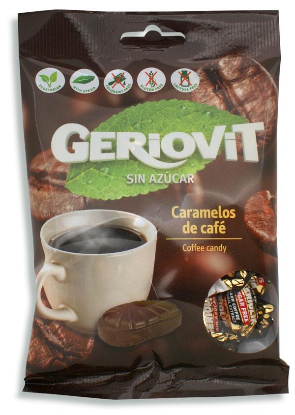 Caramelos de café sin azúcar con Stevia