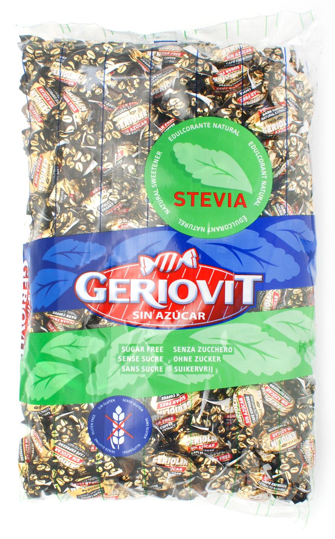 Bolsa 1kg con caramelos de café sin azúcar Geriolín